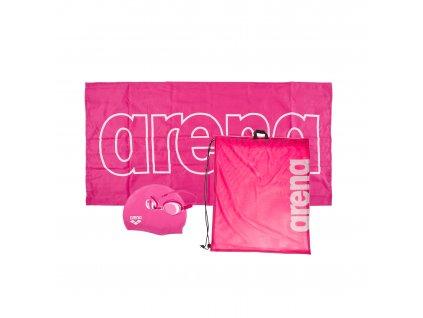 Dívčí plavecký set ARENA Junior - růžová