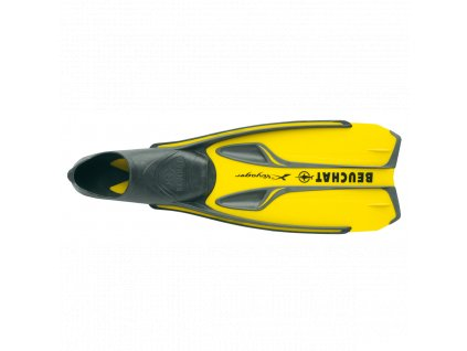Ploutve Beuchat X-Voyager - žlutá (Velikost 32-33)