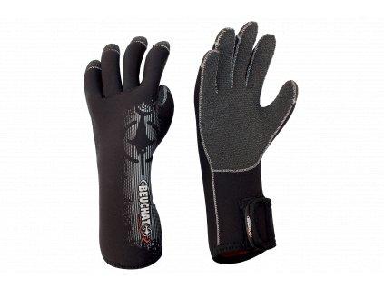 Unisex rukavice Beuchat Premium 4,5 mm - černá (Velikost XXXL)