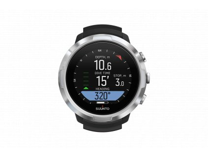 SS050190000 SUUNTO D5 BLACK Front View compass
