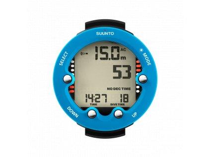 SS021644000 Suunto Zoop Novo Blue Front Divetime Clock Metric