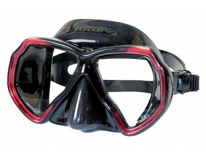 2466 maska beuchat x contact 2 cerna cervena