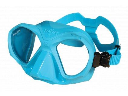 2487 maska beuchat shark modra