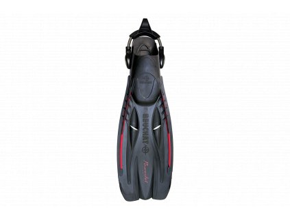 Ploutve Beuchat PowerJet Adjustable Spring Strap - černá (Velikost XL)