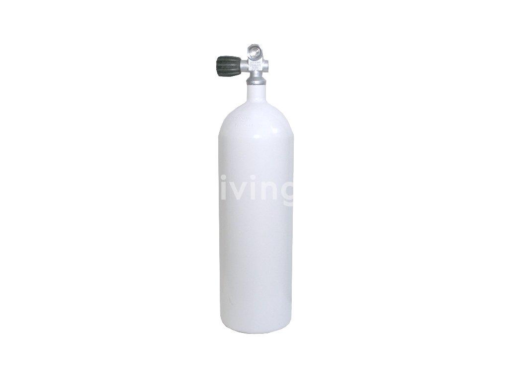 Láhev Vítkovice 5L 230bar, Monoventil G5 8 (rovné konkávní dno)