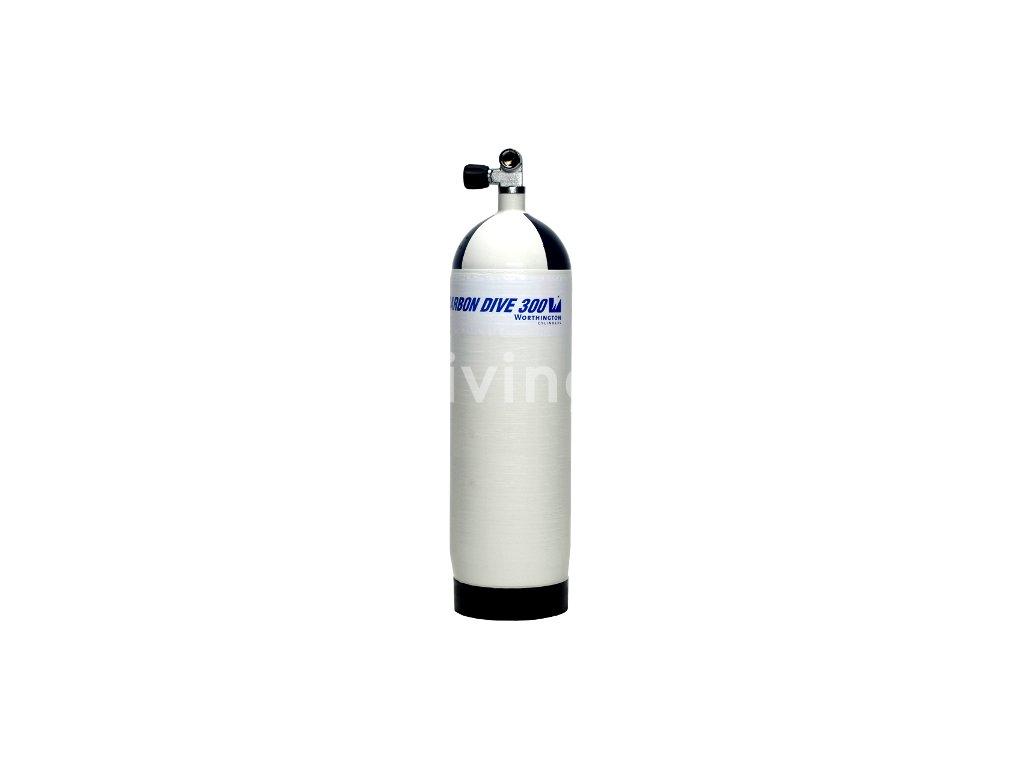 carbondive carbon scuba cylinder 12 l mono valve