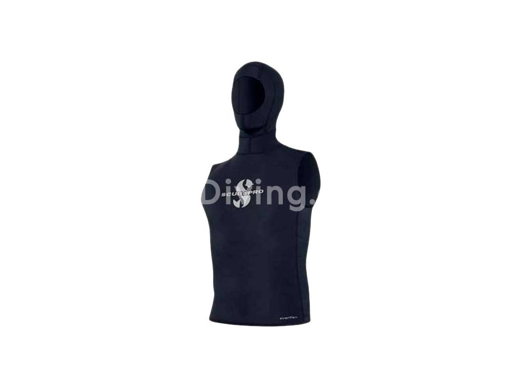 scubapro hooded vest 2.5 mm