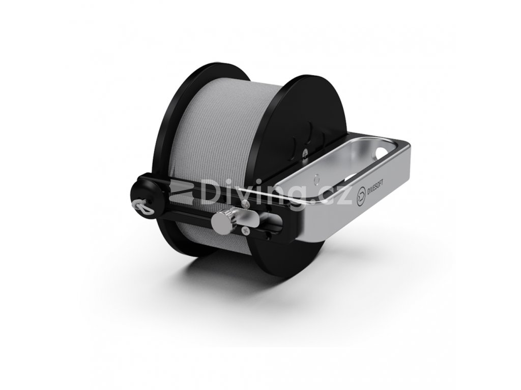 Divesoft Narrow reel with a 150 m cord