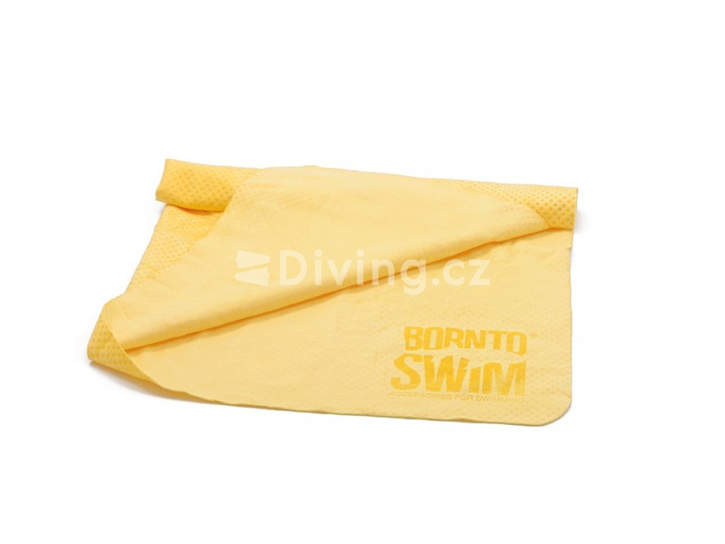 Sportovní absorbční ručník BornToSwim® Dry extra (Barva Růžová, Velikost 43x66cm)