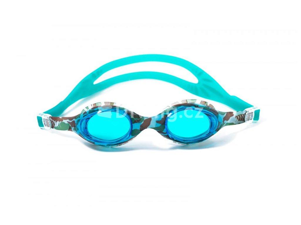 Plavecké brýle BornToSwim® Camouflage  UNI, camouflage (Barva Camouflage)