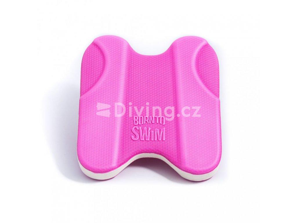 Univerzální plavecká deska BornToSwim® (Barva Zeleno/Bílá, Velikost 30x27x4cm)