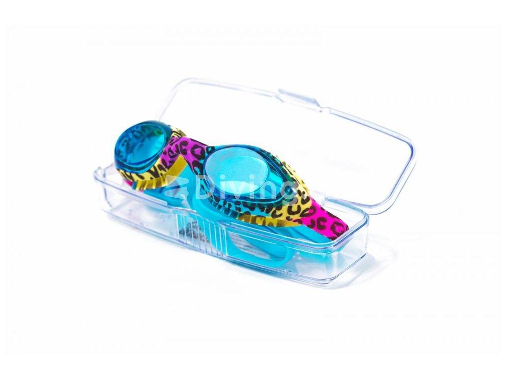 Plavecké brýle BornToSwim® Gepard UNI, mix (Barva mix)