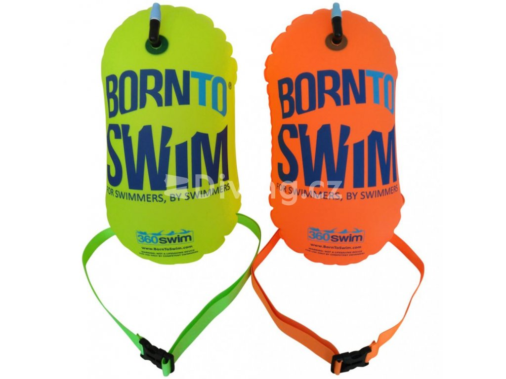 Plavecká bójka BornToSwim® (Barva Růžová, Velikost 28x49cm)