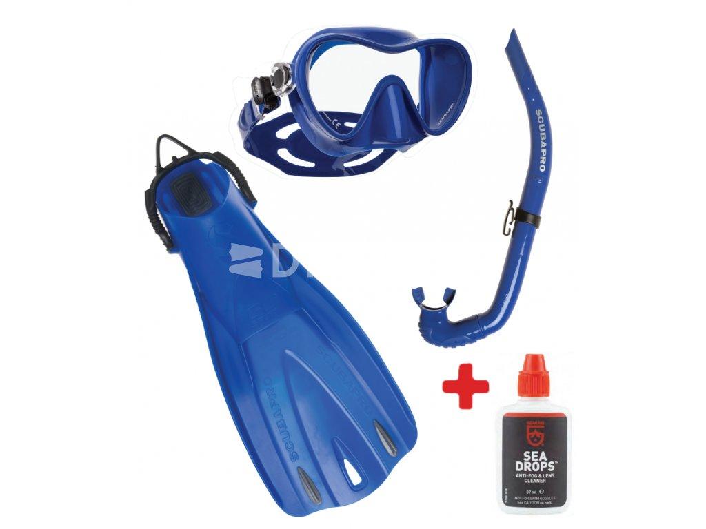 abc set Trinidad apnea go sport, sea drops zdarma, modre