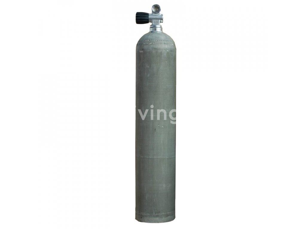 mes 57 l 207 bar alu cylinder natural with valve 12144