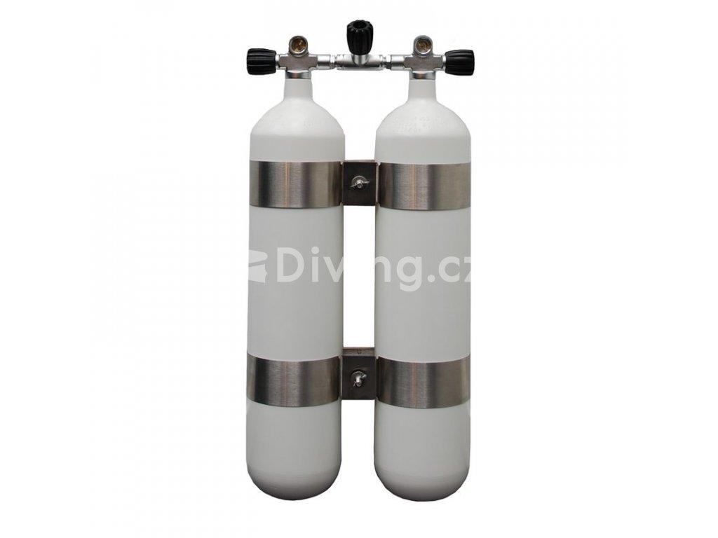 twin 12 l tall 232 bar dive cylinder