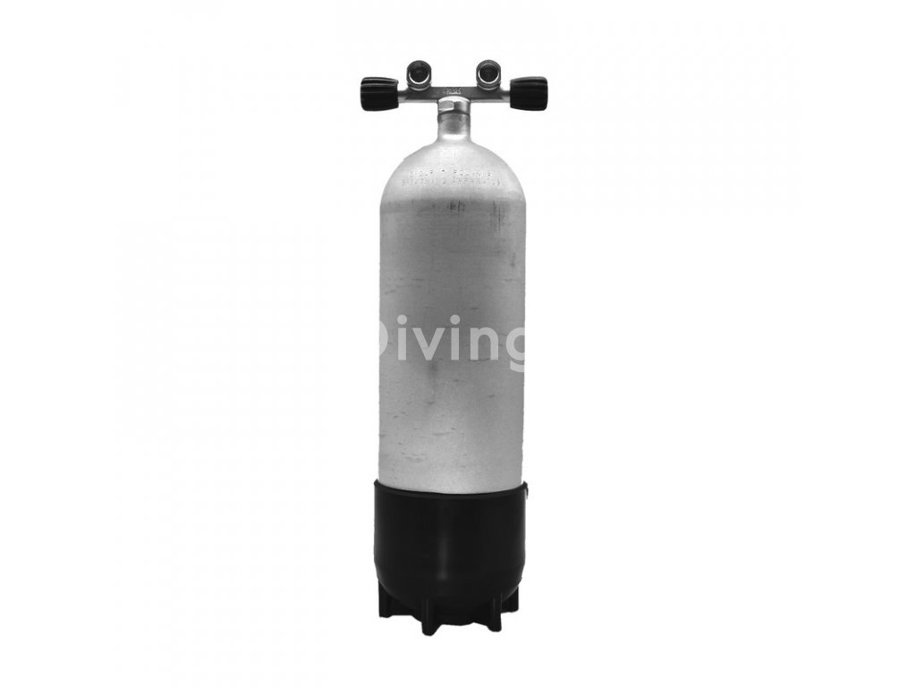 faber 10l 232 bar hot dipped steel cylinder complete 2