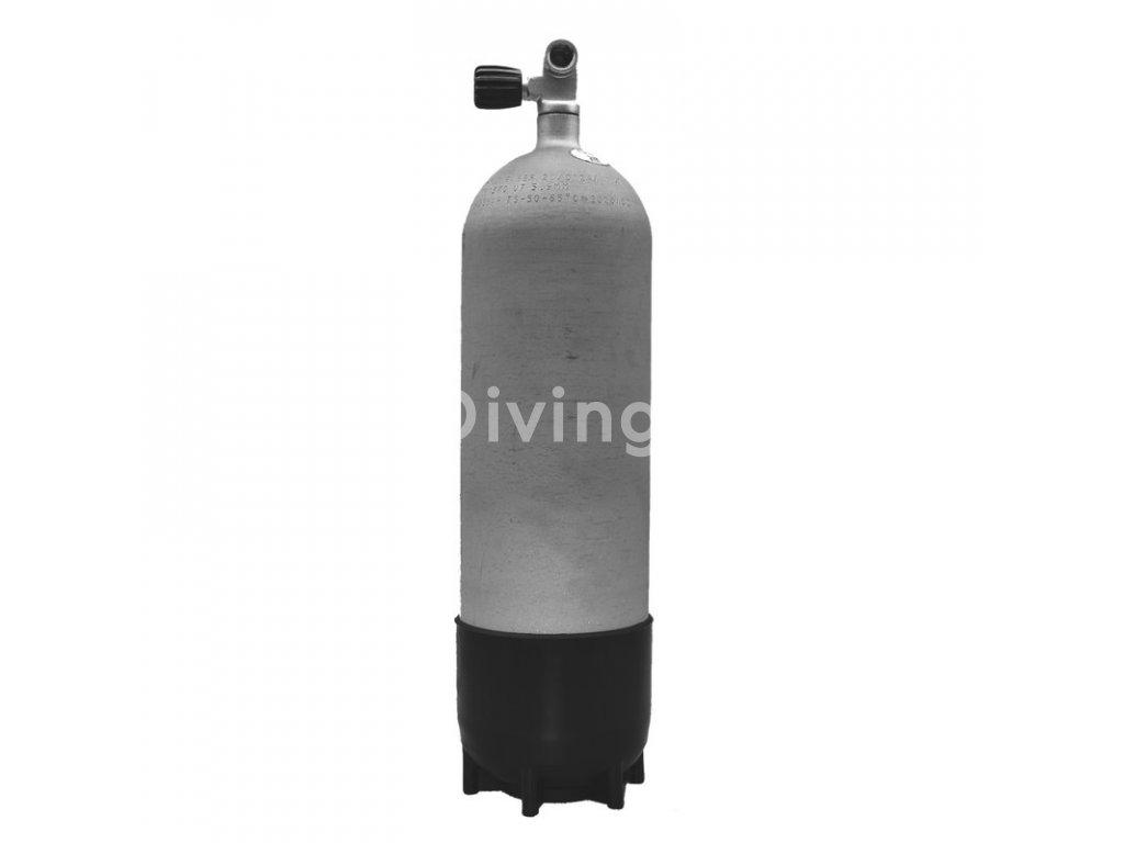 faber 10l 300 bar hot dipped steel cylinder complete