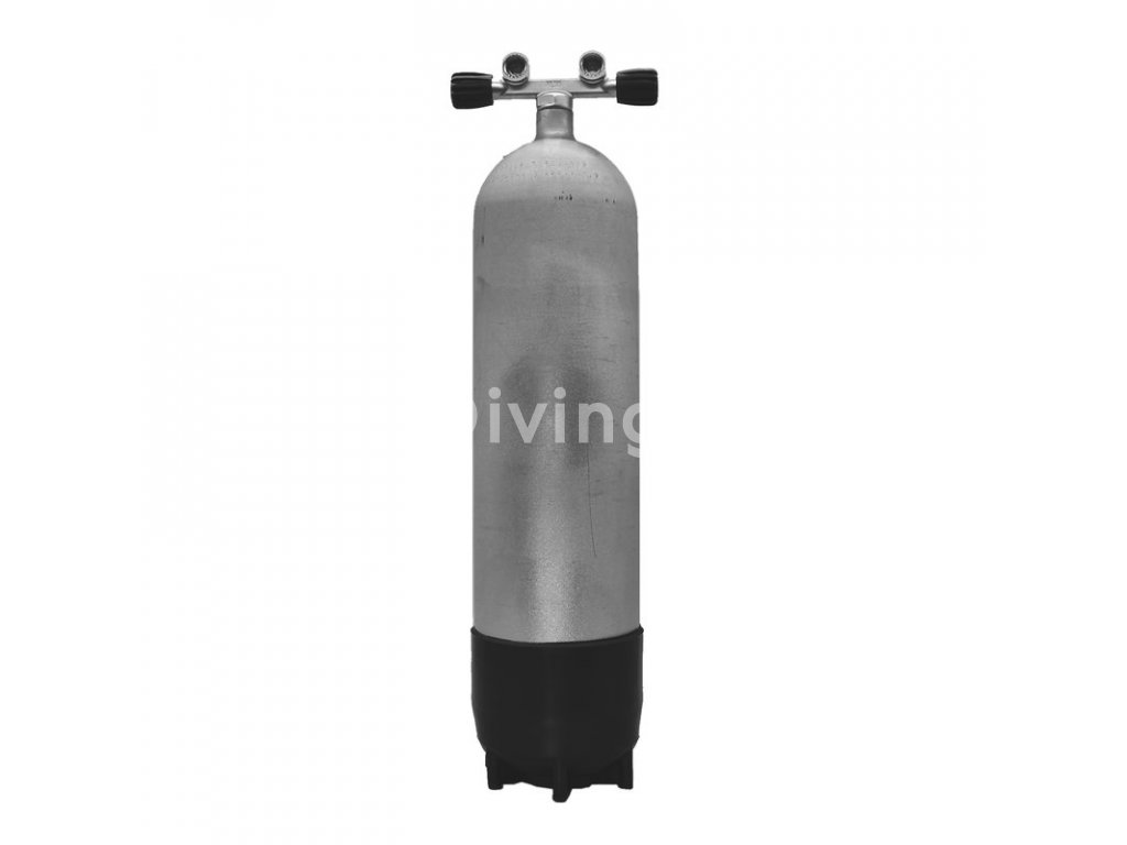 faber 12 l long 232 bar hot dipped cylinder complete
