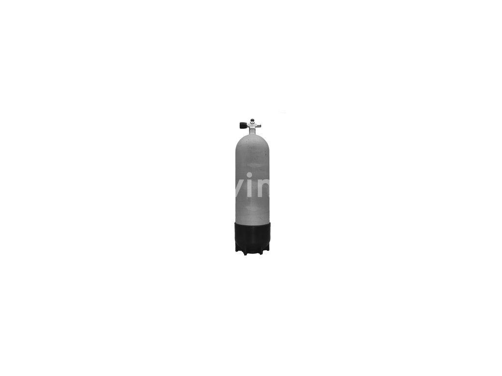 Faber potápěčská tlaková láhev 18 L / 232 bar s ventilem a botkou (Velikost 18 L, Ventily Levý)
