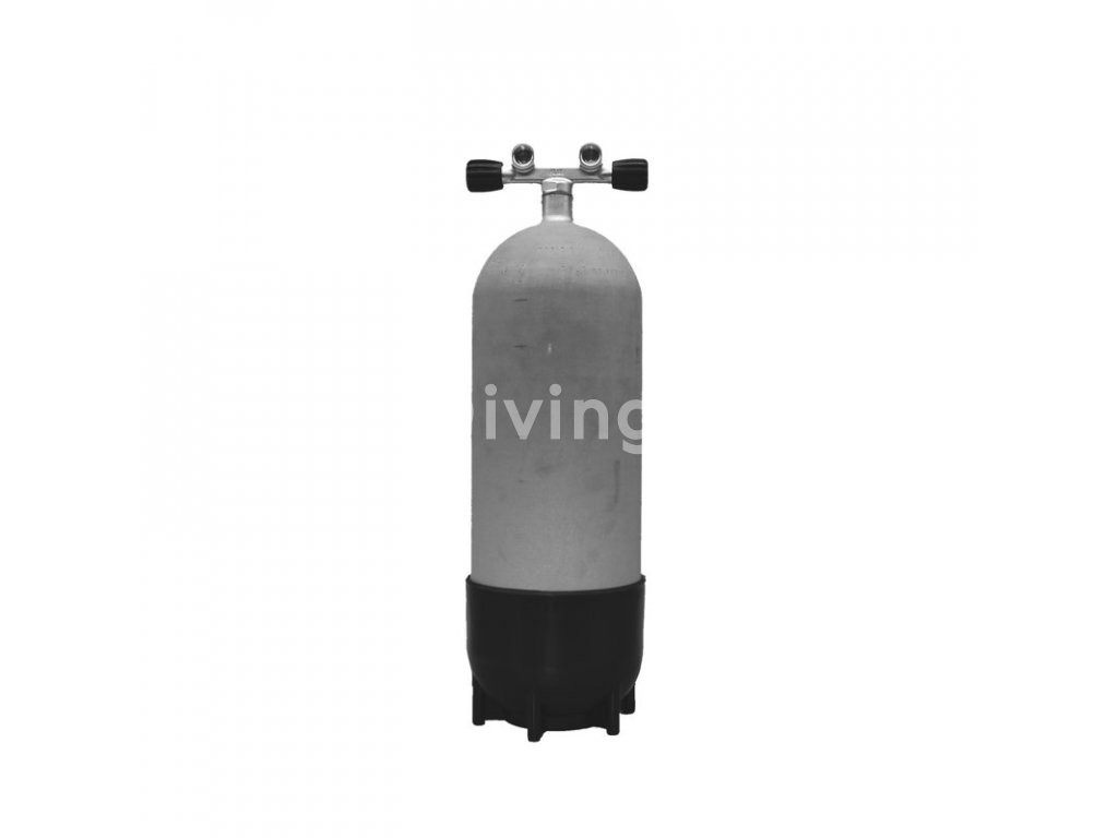 faber15l 232 bar hot dipped cylinder with twinvalve 12944 and boot