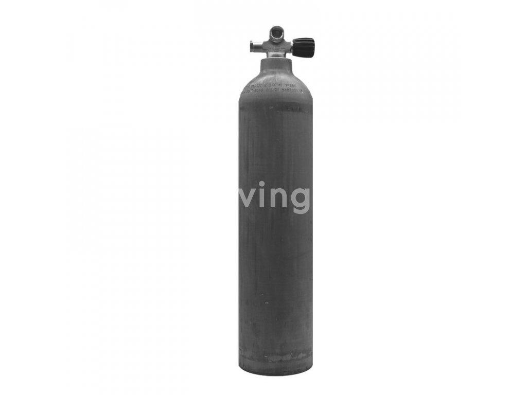 MES 7 L hliníková láhev Nature 200 bar (Velikost 7 L)