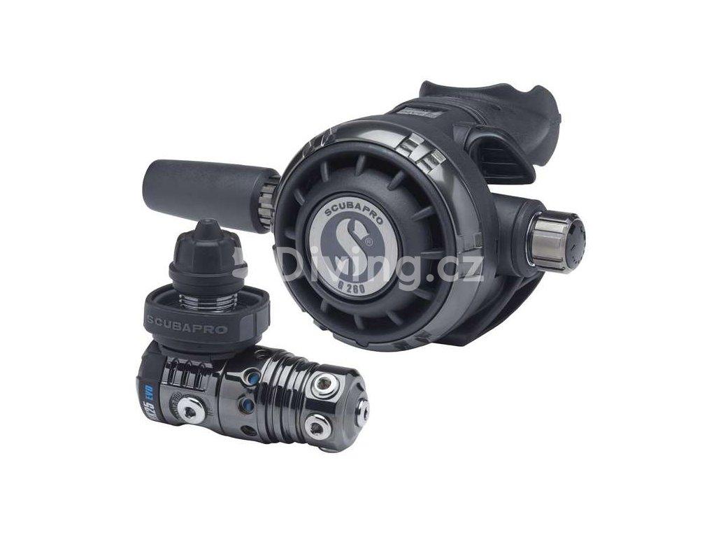 Scubapro MK25 BLACK TECH G260 BLACK TECH