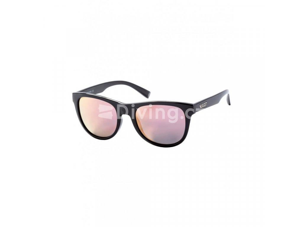 Sluneční brýle Nugget Whip 2 Sunglasses S19 E Black Glossy, Rose