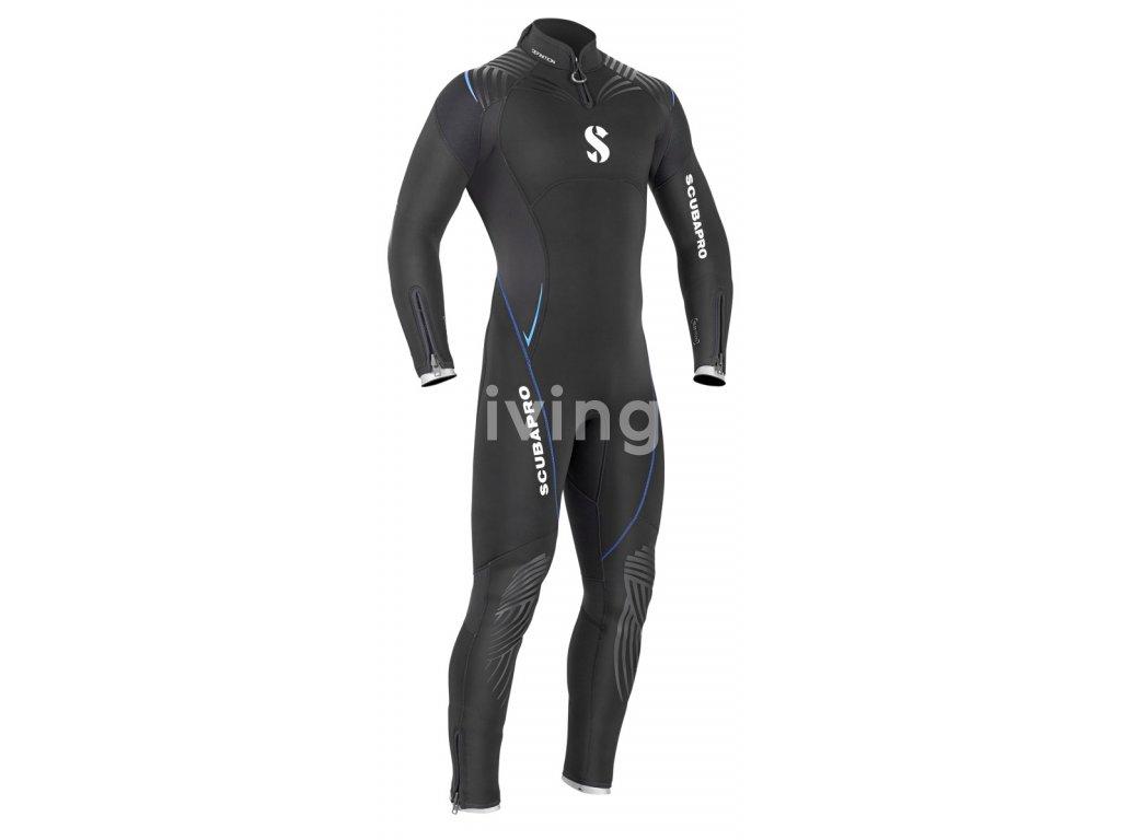Scubapro Oblek Definition 5 Zadní Zip Pánský