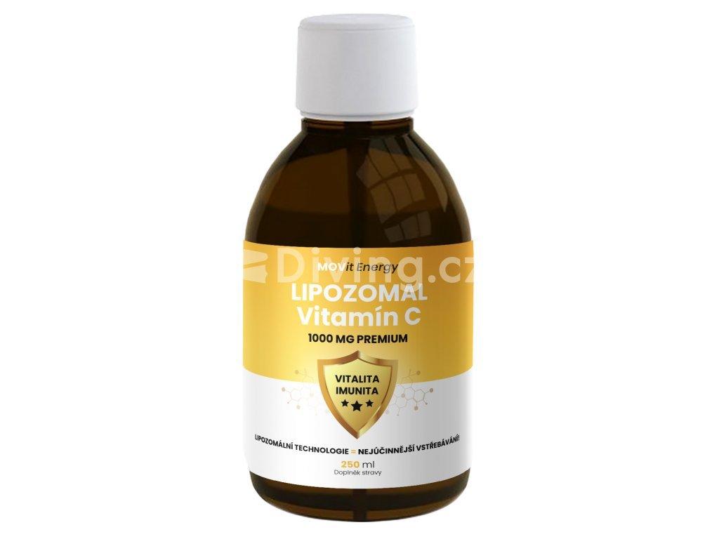MOVit Lipozomální Vitamín C 1000 mg Premium 250 ml