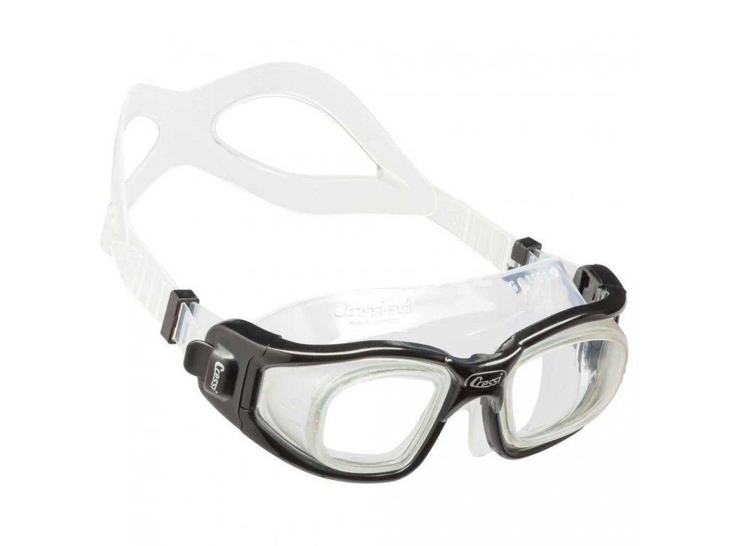 cressi galileo swimming goggles cerna