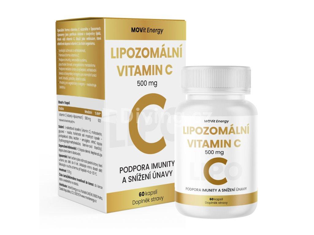 Lipozomalni vitamin c500mg CZ 60csp