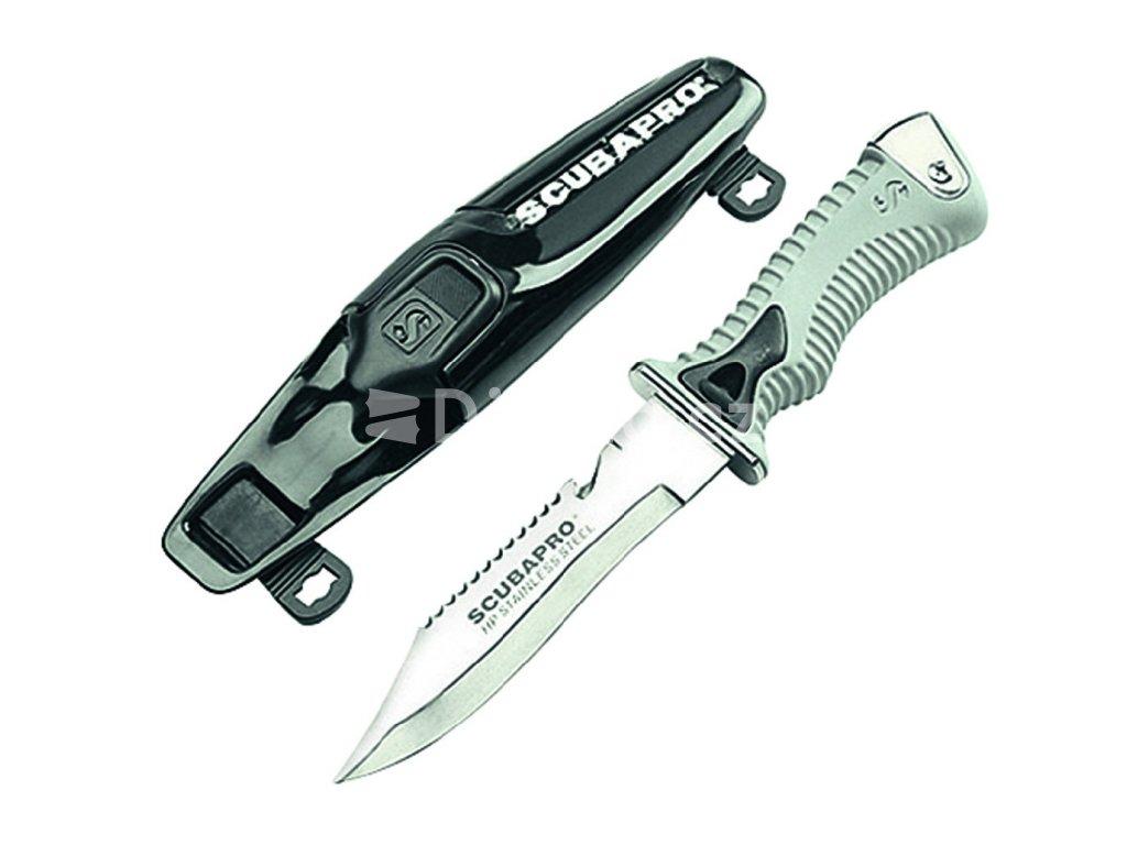 Nůž Scubapro K6 Nerez, čepel 15cm