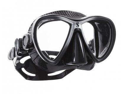 Maska Scubapro Synergy Twin Black Silver