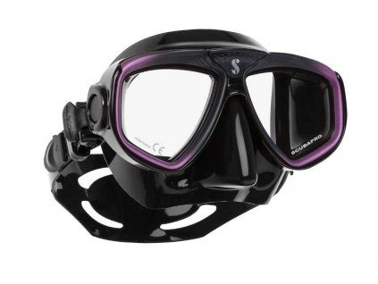 Maska Scubapro Zoom Evo Black Purple