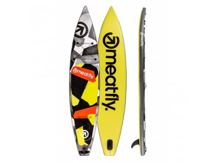 Paddleboard Meatfly Zoom 12,6 A Lime, Black