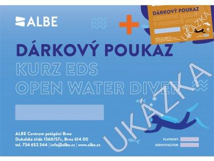 Dárkový poukaz EDS Open water diver