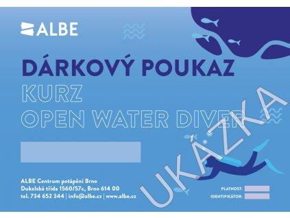 Dárkový poukaz PADI Open Water diver