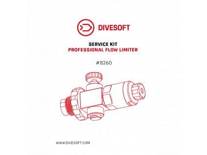 Divesoft Service kit - Professional flow limiter