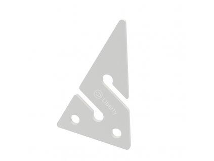 Divesoft Line Arrow - White