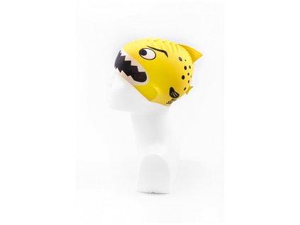 Dětská plavecká čepice BornToSwim® Junior (Barva Žlutá, Velikost 22)