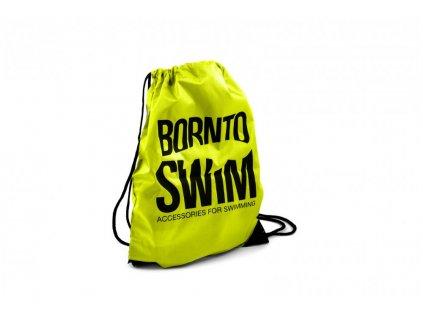 Sportovní stahovací vak BornToSwim® Swimbag (Barva Růžová, Velikost 35x45cm)