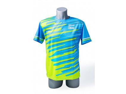 Pánské tričko BornToSwim® CoolMax (Barva modro/zelená, Velikost XXL)