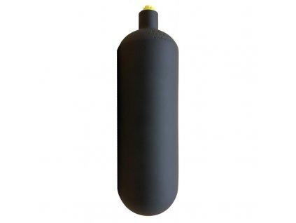 ecs 1 l 232 bar steel cylinder black
