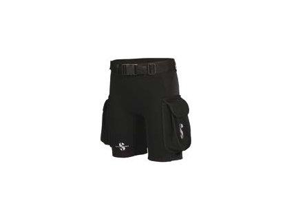 Hybrid cargo shorts damske