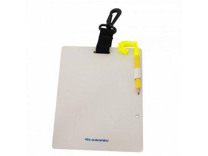 Tabulka na psaní pro potápěče