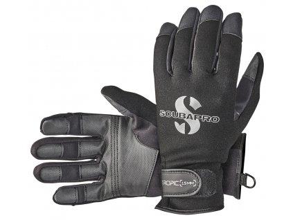 Scubapro Rukavice Tropic Glove 1.5mm Černé