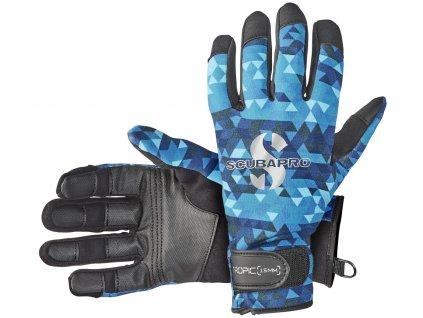 Scubapro Rukavice Tropic Glove 1.5mm Tyrkysové