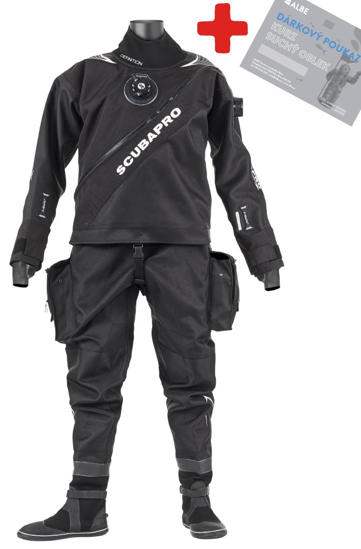Scubapro Definition Dry + Kurz Suchý Oblek Zdarma! Velikost: L, Pohlaví: Pánské