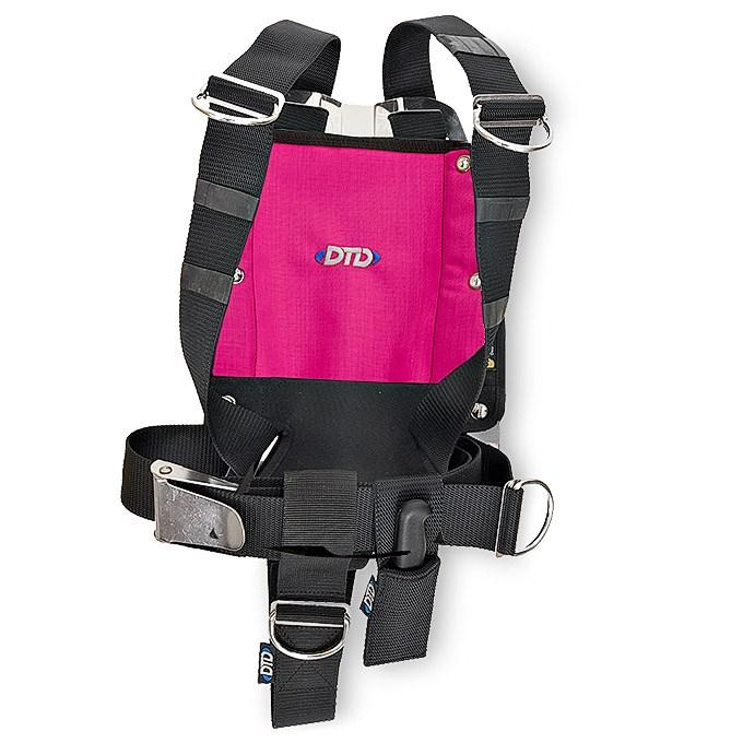 DTD Backplate nerez 3 mm komplet Barva: Růžová